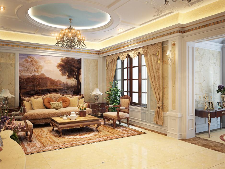 thạch cao đẹp phòng khách