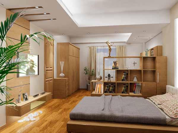 Mẫu trần thạch cao cho phòng ngủ vợ chồng
