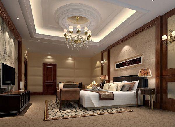 Mẫu trần thạch cao phòng ngủ vợ chồng đẹp