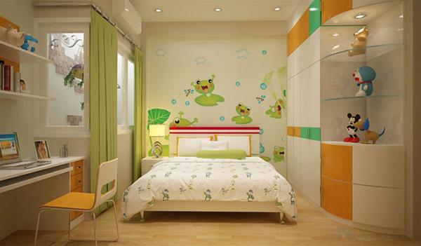 Mẫu trần thạch cao phòng ngủ cho trẻ em