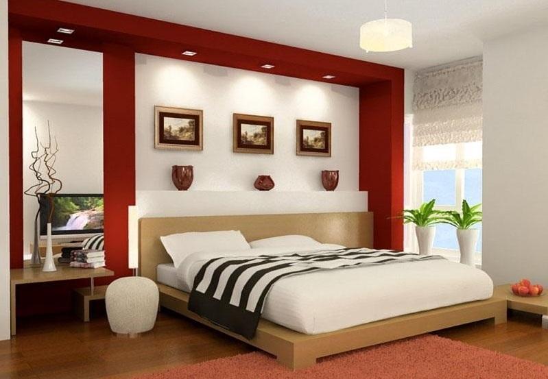 đèn led âm trần thạch cao phòng ngủ đẹp