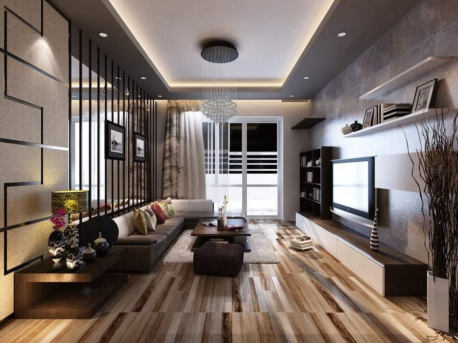 Phòng khách đẹp nhà ống phong cách độc lạ