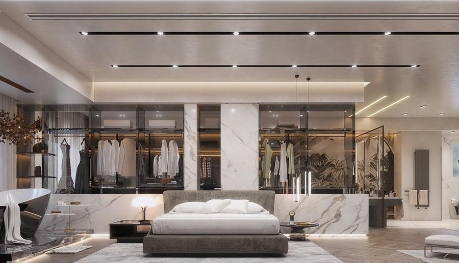 phòng ngủ master 40m2 đẹp