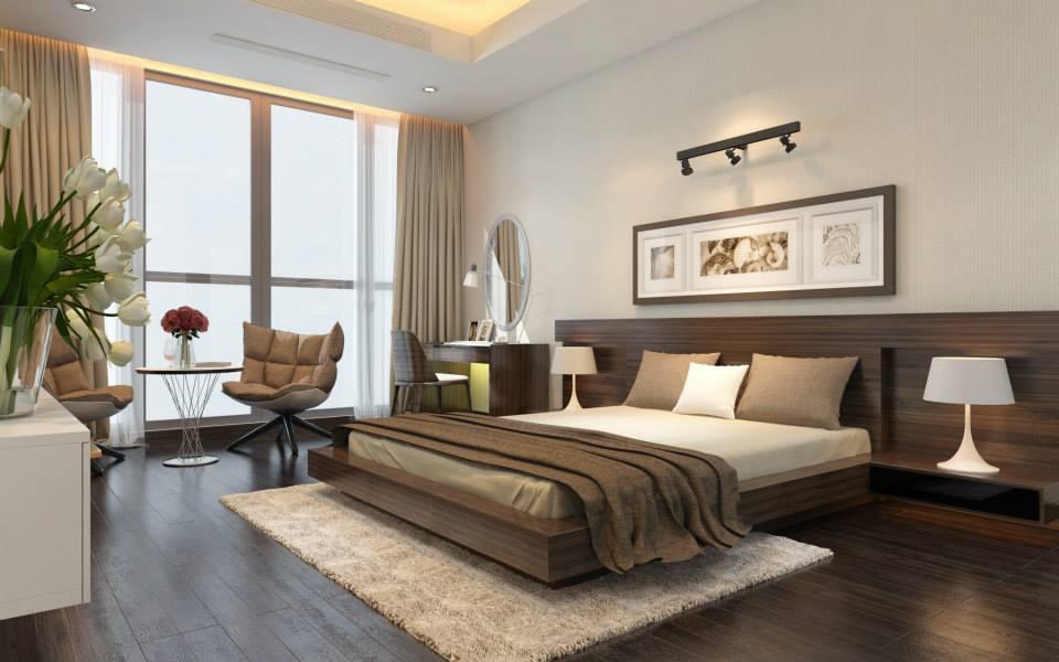 phòng ngủ 40 m2 đẹp