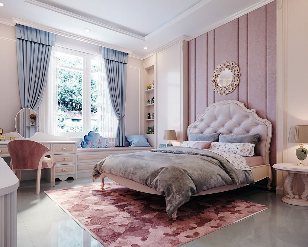 Phòng ngủ đẹp 20m2