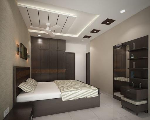 trần thạch cao chìm phòng ngủ
