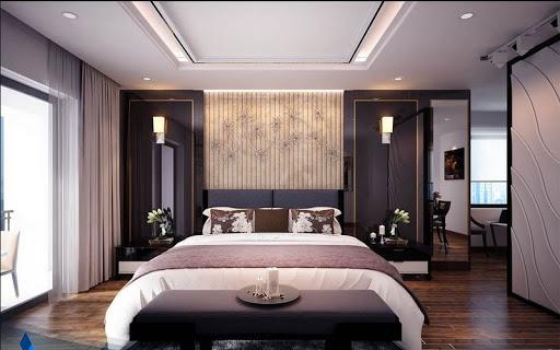 mẫu trần thạch cao phòng ngủ lớn