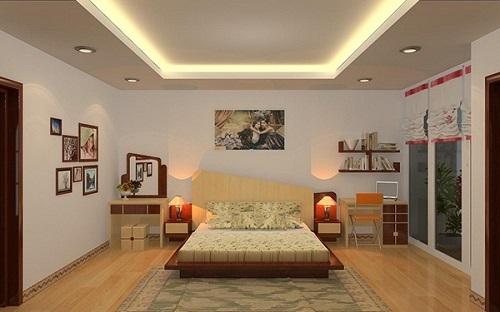 trần thạch cao phòng ngủ đẹp và sang