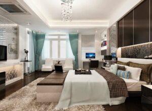 Mẫu trần thạch cao phòng ngủ vợ chồng được ưa chuộng