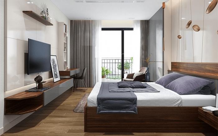 Phòng ngủ theo phong cách master hiện đại