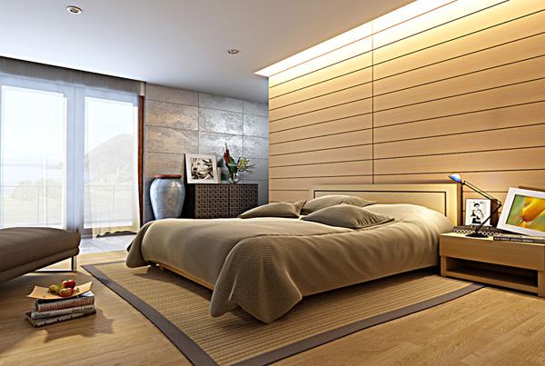 mẫu trần thạch cao phòng ngủ vợ chồng hợp phong thủy
