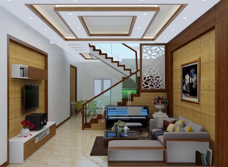 trần thạch cao giúp căn nhà chống ồn, cách nhiệt