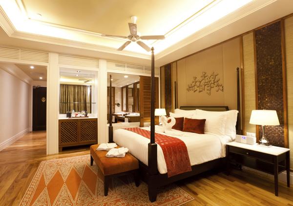 Mẫu trần thạch cao cho phòng ngủ vợ chồng ấm cúng