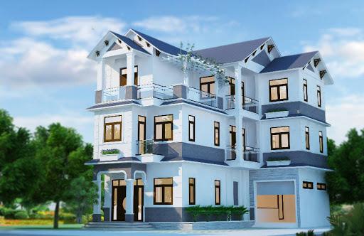 sơn nhà màu xanh ngọc hợp phong thủy