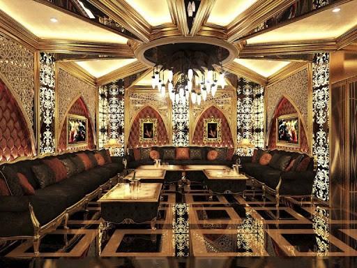 Mẫu trần thạch cao phòng karaoke đẹp cho quán