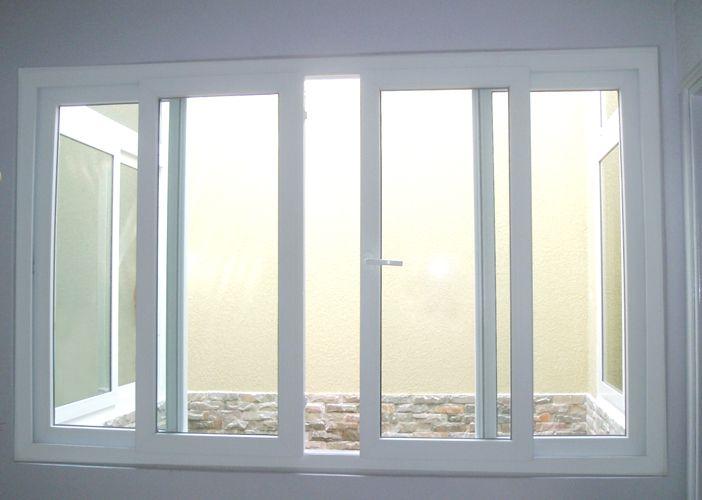 Mẫu cửa sổ lùa nhôm Xingfa 4 cánh hiện đại