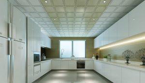 mẫu trần nhôm đẹp phòng bếp
