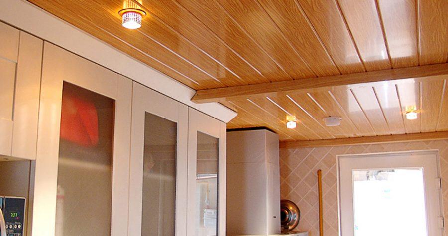 Mẫu trần nhựa PVC vân gỗ đẹp 2021
