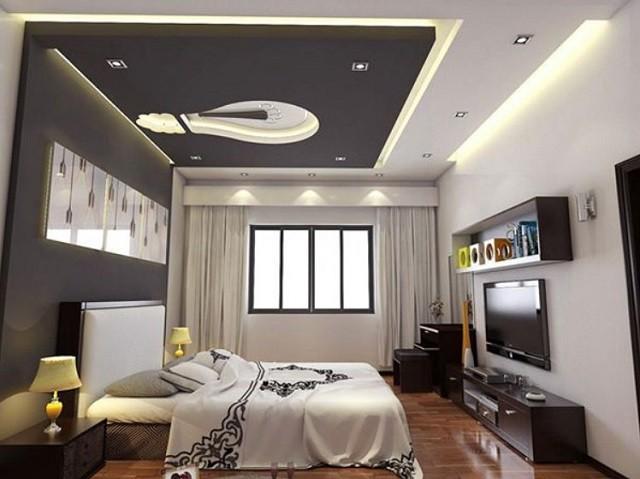 Mẫu trần thạch cao đẹp 2021 cho phòng ngủ