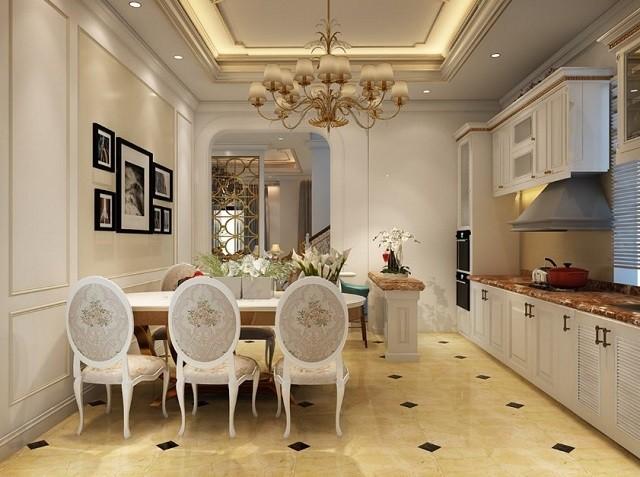 Mẫu trần thạch cao đẹp 2021 cho phòng bếp