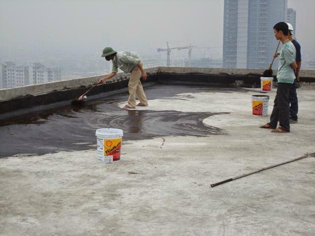 Hướng dẫn chống thấm trần nhà hiệu quả