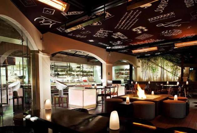 Trần thạch cao đẹp cho quán cafe