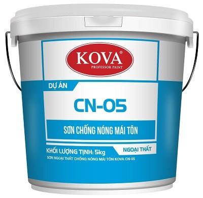 Sơn Kova CN-05 - Sơn chống nóng mái tôn