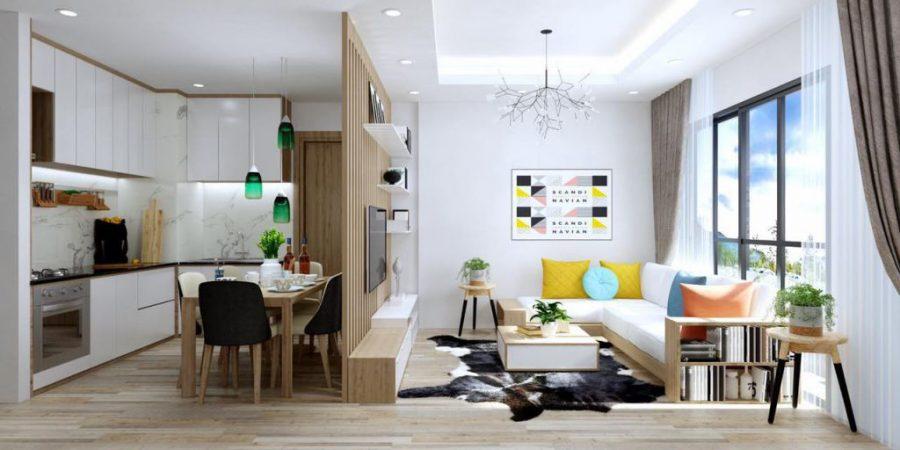 Thiết kế căn hộ trung cư theo phong cách nội thất hiện đại