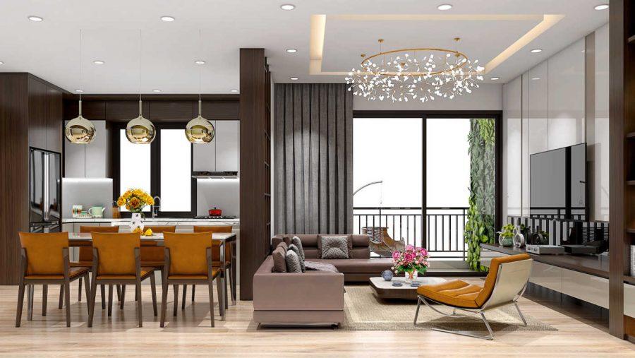 Mẫu thiết kế nội thất đẹp 2021