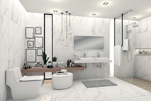 Trần thạch cao nhà vệ sinh đẹp