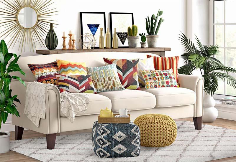 Xu hướng thiết kế du mục cho nội thất cực đẹp