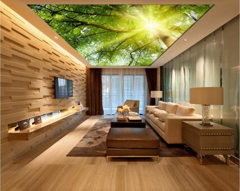 Căn nhà hoàn hảo hơn nhờ mẫu trần thạch cao 3D đẹp