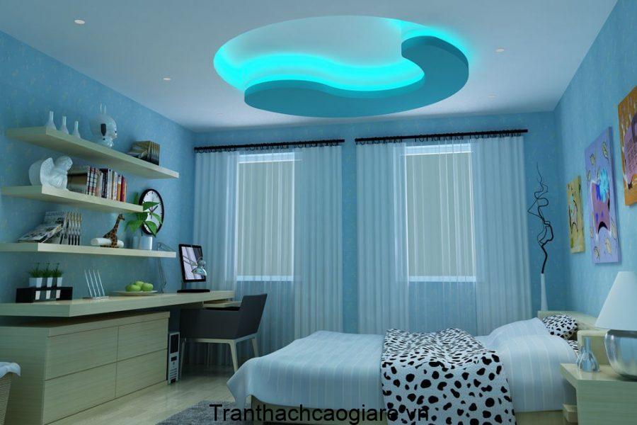 trần thạch cao phòng ngủ trẻ em đẹp