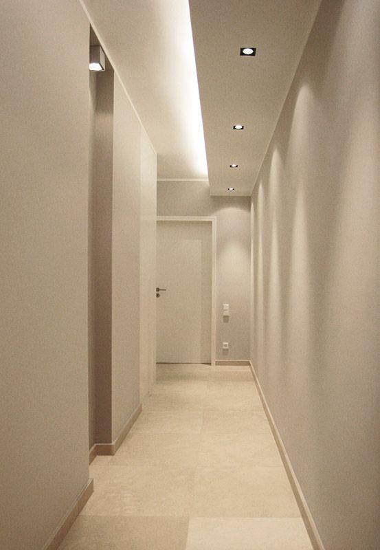 trần thạch cao đẹp hành lang
