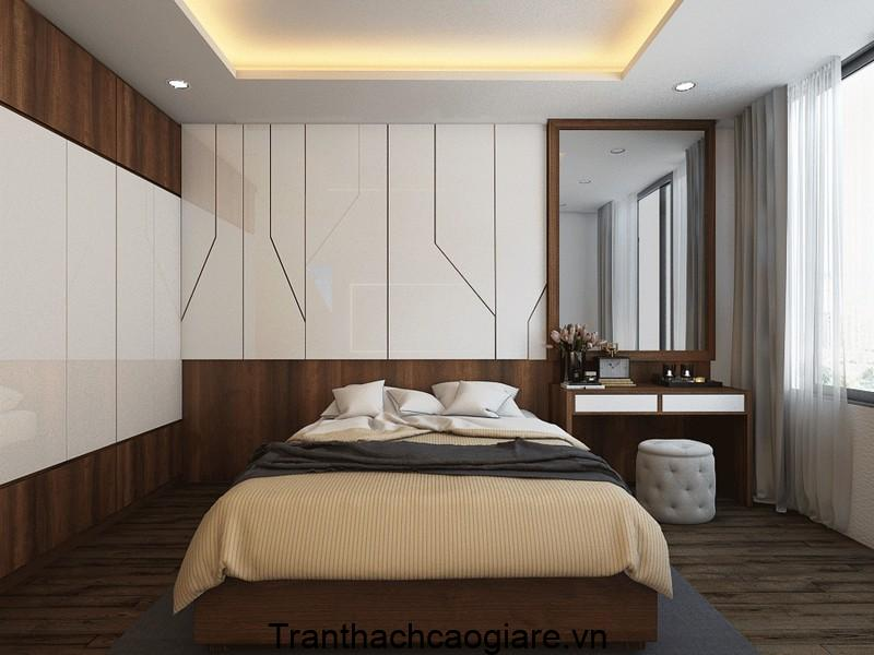 Mẫu trần thạch cao phòng ngủ không gian nhỏ