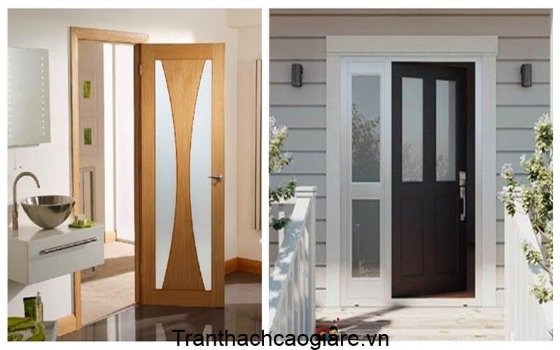 cửa sắt giả gỗ mẫu mới nhất