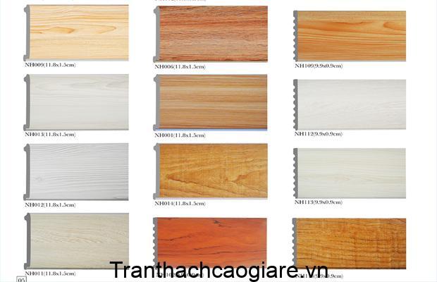 Những mẫu tấm nhựa giả gỗ được ưa chuộng
