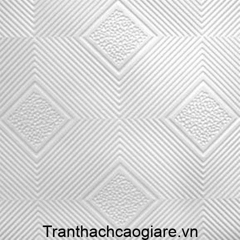 Họa tiết tấm thạch cao thả ô vuông