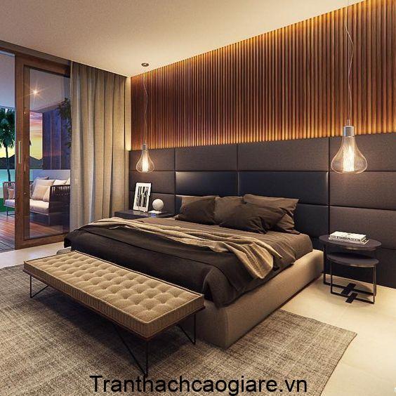 Mẫu trang trí gỗ nhựa ABT Wood cho phòng ngủ