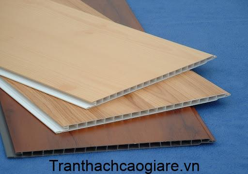 Mẫu tấm nhựa ốp tường PVC vân gỗ đẹp