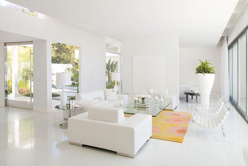 Màu sơn nhà đẹp trắng thuần khiết và sang trọng