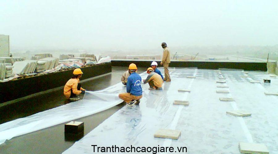 Mức giá chống thấm công trình phụ thuộc vào nhiều yếu tố