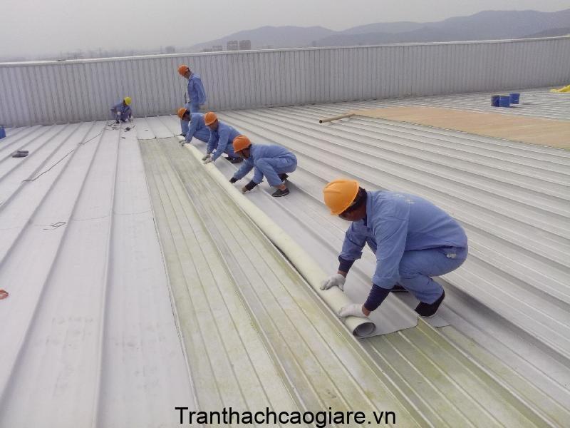 chống thấm chống nóng mái tôn