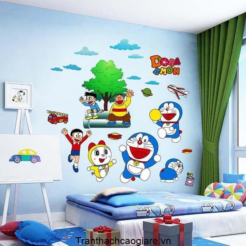 Giấy dán tường các nhân vật hoạt hình cho các bé nhỏ